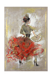 Flamenco II Stampa giclée premium di Marta Wiley