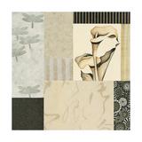 Collage with Calla Lillies 3 Giclée-Premiumdruck von Julieann Johnson