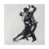 In His Arms II Premium Giclée-tryk af Marysia