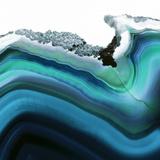 Turquoise Agate A Reproduction photographique Premium