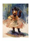 Dancing Queen Premium Giclee Print by Edosa Oguigo