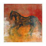 Le Cheval 2 Premium Giclee Print by Maeve Harris