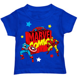 Toddler: Marvel - Blocky Marvel Logo Tシャツ