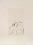Two Gypsies Samlarprint av Marie Laurencin