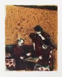 La partie de dames Édition limitée par Edouard Vuillard