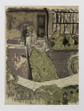 Le Jardin devant L'Atelier Édition limitée par Edouard Vuillard