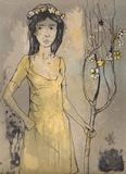 Spring Maid Samlarprint av Jean Jansem