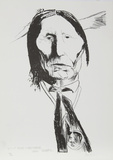 Wolf Robe - Cheyenne Edizione limitata di Leonard Baskin