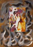 untitled 9 Limited Edition av Sandro Chia
