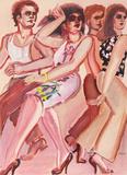 New York Dancers 4 Edición limitada por Lester Johnson