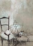 Girl's Hat Samlarprint av Jean Jansem