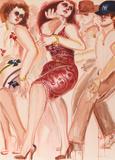 New York Dancers 5 Edición limitada por Lester Johnson