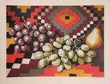 Still Life with Grapes Limited Edition av Lowell Nesbitt