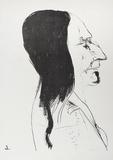 Sitting Bull Edizione limitata di Leonard Baskin
