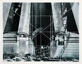 Barriers Serigrafiprint (silkscreentryck) av Lowell Nesbitt