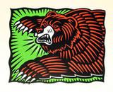 The Bear Særudgave af Burton Morris