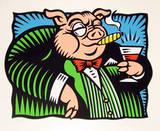 The Pig Særudgave af Burton Morris