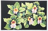 Green and White Irises Limited Edition av Lowell Nesbitt