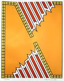 Deep Down Orange Edição limitada por Nicholas Krushenick