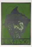 "Self Portrait - ""L.B. AE T. S"" Edizione limitata di Leonard Baskin"
