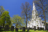 Canada, Nova Scotia, Halifax. Saint Mary's Cathedral Basilica. Reproduction photographique par Kymri Wilt