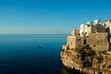 Italy, Apulia, Polignano a Mare. Old village over the cliff. Photographic Print by Michele Molinari