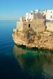 Italy, Apulia, Polignano a Mare. Old village on a cliff. Photographic Print by Michele Molinari
