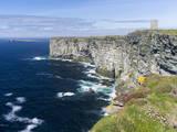 The Cliffs of Marwick Head, Kirkwall, Orkney islands, Scotland. Stampa fotografica di Martin Zwick