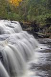 Canyon Falls on the Sturgeon River near L'Anse, Michigan, USA Stampa fotografica di Chuck Haney