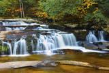 Autumn at Jackson Falls, Jackson, New Hampshire, USA Photographic Print by Michel Hersen