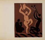 LC - Mère danseur et musicien Impressão colecionável por Pablo Picasso