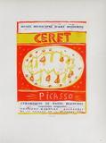 AF 1958 - Musée Municipal Céret Impressão colecionável por Pablo Picasso