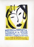 AF 1950 - Maison De La Pensée Française Samletrykk av Henri Matisse