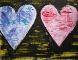 Two Hearts Edição limitada por Jim Dine