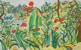 Jungle II Edição limitada por Niki De Saint Phalle