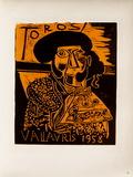 AF 1958 - Toros Vallauris Samlertryk af Pablo Picasso