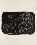 Entre-Deux No. 4 Samlarprint av Le Corbusier,