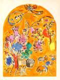 Jerusalem Windows : Joseph Keräilyvedos tekijänä Marc Chagall