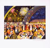 Champagne III Sammlerdrucke von Guy Buffet