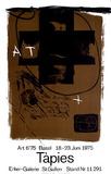 Expo Art Basel 6'75 Samlertryk af Antoni Tapies