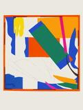 Papiers Decoupes - Souvenir Doceanie Reproduction pour collectionneur par Henri Matisse