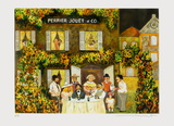 La Maison Perrier Jouët Et Cie Sammlerdrucke von Guy Buffet