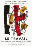 Expo 51 - Les Peintres Témoins de leur Temps Impressão colecionável por Fernand Leger