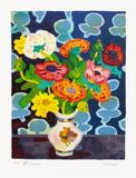 Bouquet Et Tapisserie 限定版アートプリント : ガイ・カロン