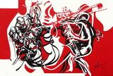 Jazz - Contrebassistes Édition limitée par Raymond Moretti