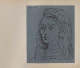 LC - Jacqueline Samletrykk av Pablo Picasso