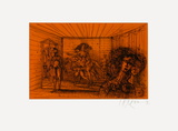 Sans Titre Limited Edition by Jean Carzou
