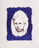 Portrait de Rimbaud Limitierte Auflage von Ernest Pignon-Ernest