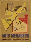 Salon des Arts Ménagers 54 Impressão colecionável por Francis Bernard