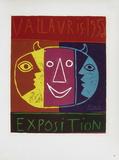 AF 1956 - Exposition Vallauris Reproduction pour collectionneur par Pablo Picasso